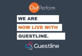 OutPerform RMS live with Guestline PMS, hotel software